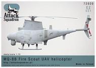 """ARMA HOBBY  1/72 MQ-8B """"FIRESCOUT"""" Drone AHY72020"""