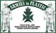 Armies in Plastic  1/32 Zulu War 1879 King's Royal Rifle Corps (18) (D)<!-- _Disc_ --> AIN5570