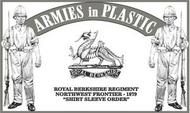 Armies in Plastic  1/32 Northwest Frontier 1879 Royal Berkshire Regiment (18) (D)<!-- _Disc_ --> AIN5571