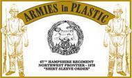 Armies in Plastic  1/32 Northwest Frontier 1878 67th Hampshire Regiment (18) (D)<!-- _Disc_ --> AIN5572