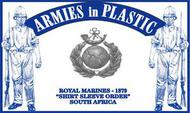 Armies in Plastic  1/32 South Africa 1879 Royal Marines (18) (D)<!-- _Disc_ --> AIN5574