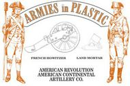 Armies in Plastic   N/A American Continental Artillery- Net Pricing AIN5600