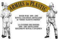 Armies in Plastic  1/32 Boer War 1899-02 Royal Canadian Artillery Shirt Sleeve Order (5) w/7-Pdr Gun (D)<!-- _Disc_ --> AIN5605