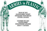 Armies in Plastic  1/32 War of 1812 Glengarry Light Infantry Fencibles Upper Canada (20) (D)<!-- _Disc_ --> AIN5607