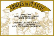 Armies in Plastic  1/32 WWI Lord Strathcona's Horse Royal Canadians (5 Mtd) (D)<!-- _Disc_ --> AIN5608