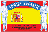 Armies in Plastic   N/A Spanish Regular Infantryinblue- Net Pricing AIN5612