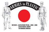 Armies in Plastic  1/32 Russo-Japanese War 1904-05 Japanese Army Summer Dress (16) (D)<!-- _Disc_ --> AIN5613
