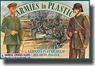 Armies in Plastic  1/32 World War I Germans in Stahlhelm Helmets - Net Pricing AIN5402