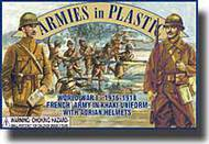 Armies in Plastic  1/32 World War I French Army in Khaki Uniforms - Net Pricing AIN5404