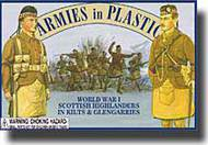 Armies in Plastic  1/32 WWI Scottish Highlanders in Kilts & Glengarries- Net Pricing AIN5407