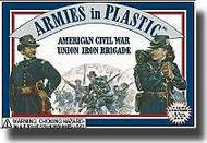 Armies in Plastic  1/32 American Civil War Union Iron Brigade- Net Pricing AIN5410