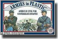 Armies in Plastic  1/32 American Civil War Confederate Infantry- Net Pricing AIN5411