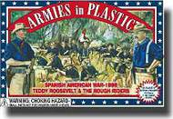Armies in Plastic  1/32 Spanish American War 1898 Teddy Roosevelt/Rough Riders- Net Pricing AIN5414
