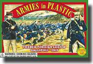Armies in Plastic  1/32 French Foreign Legion 1915 Gallipoli Infantry- Net Pricing AIN5419