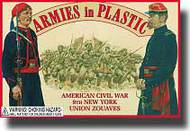 Armies in Plastic  1/32 American Civil War 9th New York Union Zouaves- Net Pricing AIN5435