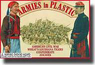Armies in Plastic  1/32 American Civil War Wheat s Louisiana Tiger Confederate Zouaves- Net Pricing AIN5439
