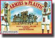 Armies in Plastic  1/32 Egypt & Sudan 1881-1898 Ansars Dervish Warriors- Net Pricing AIN5440