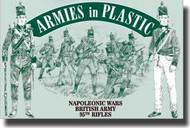 Armies in Plastic  1/32 Napoleonic Wars British Army 95th Rifles- Net Pricing AIN5503