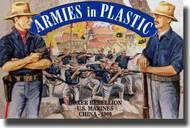 Armies in Plastic  1/32 Boxer Rebellion China 1900 US Marines w/Kreg Rifles- Net Pricing AIN5508
