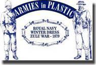 Armies in Plastic  1/32 Zulu War 1879 Royal Navy Winter Dress- Net Pricing AIN5510