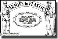 Armies in Plastic  1/32 Egypt & Sudan 1882-1898 Royal Navy Summer Dress- Net Pricing AIN5513