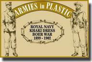 Armies in Plastic  1/32 Boer War 1899-1902 Royal Navy Khaki Dress- Net Pricing AIN5514