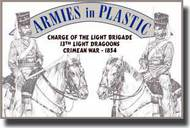 Armies in Plastic  1/32 Crimean War 1854 13th Light Dragoons Charge of the Light Brigade - Net Pricing AIN5516