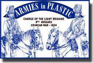 Armies in Plastic  1/32 Crimean War 1854 8th Hussars Charge of the Light Brigade- Net Pricing AIN5517