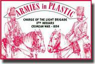 Armies in Plastic  1/32 Crimean War 1854 11th Hussars Charge of the Light Brigade- Net Pricing AIN5518