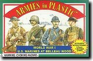 Armies in Plastic  1/32 WW I US Marines in Belleau Wood- Net Pricing AIN5405