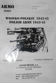 Armo  1/35 Polish Army 1943-45 part 1 ARMO35401