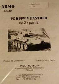 Armo  1/35 Pz.Kpfw.V Panther vol.2 ARMO35412
