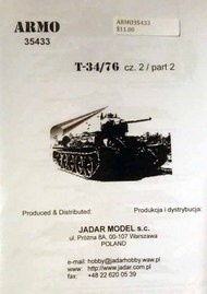 Armo  1/35 T-34/76 part 2 ARMO35433