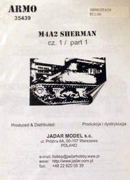 Armo  1/35 M4A2 Sherman part 1 ARMO35439