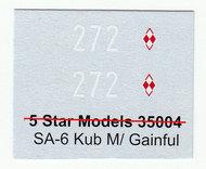 Armo  1/35 SA-6 Kub M/Gainful - Polish Marking ARMO35446