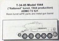 Armo  1/72 T-34-85 Mod 44 (flattened turret) ARMO72521