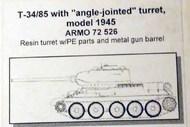 Armo  1/72 T-34-85 mod 44 (45 prod angle-jnt turret ARMO72526