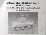 Armo  1/72 M4A2(75)w Sherman early (ITA) ARMO72552