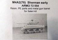 Armo  1/72 M4A2 (76) Sherman (early)  (ITA) ARMO72554