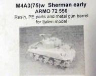 Armo  1/72 M4A3(75)w Sherman early ARMO72556