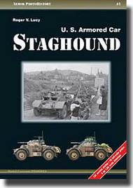 Armor Photo History 1: U.S. Armored Car Staghound #APG1001