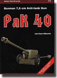 German 7.5cm Anti-tank Gun PaK 40 #APG18