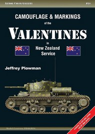 Camouflage & Markings of the Valentines in New Zealand Service #APGC10