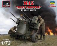 M45 Quadmount, U.S. WWII 4x 12.7mm M2HB Turret on M20 trailer #ARY72239