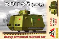 Arsenal Model Group  1/35 BDT-35 Heavy Armored Train ARG35407