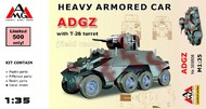 Arsenal Model Group  1/35 ADGZ Heavy Armoured Car with T-26 turret ARG35506