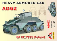 Arsenal Model Group  1/35 ADGZ Heavy Armoured Car Poland 1939 ARG35508