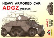Arsenal Model Group  1/35 ADGZ Heavy Armoured Car (medium) ARG35510