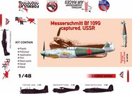 Messerschmitt Bf-109G-6 captured, USSR (plast,pe,dec,resin,mask) #ARG48708