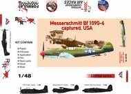 Messerschmitt Bf.109G-6 captured, USA #ARG48709